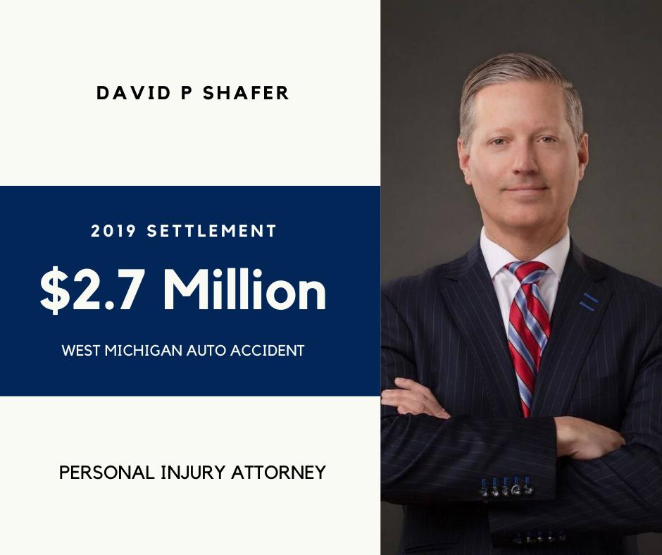 David Shafer 2.7 million dollar settlement